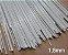 Varetas de fibra para Gaiolas, Pipas e Artesanato em geral, 1,8 mm - Branco Pacote com 1 Kg - Imagem 1