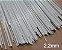 Varetas de fibra para Gaiolas, Pipas e Artesanato em geral, 2,2 mm - Branco Pacote com 1 Kg - Imagem 1