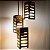 Lustre Ao Cubo - Madeira Teca - Iluminação de Ambientes - Imagem 4