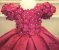 Vestido de Luxo Tema Jardim - Infantil - Imagem 3