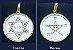 Selo de Salomão frente, a Estrela de Papus no verso  - Imagem 2