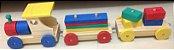 Trenzinho com blocos coloridos - Imagem 3