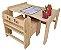Mesa de arte com rolo de papel - Imagem 1