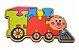 Quebra-Cabeça Trem - Imagem 1