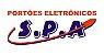 Motor de Portão eletrônico Deslizante D-15  3,4m de cremalheira SPA - Imagem 2
