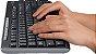 KIT TECLADO E MOUSE LOGITECH MK270 WIRELESS USB BLACK - Imagem 4