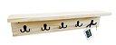 Porta Chaves e Cabideiro Organizador - Pinus - Imagem 1