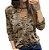 """Blusa Camuflada com Decote Em """"V"""" - Várias Cores - Imagem 7"""