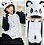 Pijama Kigurumi do Panda - Dois Modelos - Imagem 10