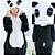 Pijama Kigurumi do Panda - Dois Modelos - Imagem 2