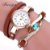 Relógio Fashion Pulseira de Couro - Várias Cores - Imagem 7