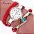 Relógio Fashion Pulseira de Couro - Várias Cores - Imagem 5