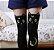 Meia 5/8 Luna de Sailor Moon - Branca & Preta - Imagem 4