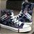 Tênis Graffite Jeans com Cano Alto - Duas Cores - Imagem 3