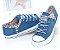 Tênis Jeans FLORAL - Imagem 1