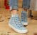 Tênis Jeans FLORAL - Imagem 5