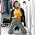 Calça Skinny Quadriculada com DUPLO ZÍPER - Imagem 1