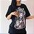 Camiseta Gótica Longline IN GOTH WE TRUST - Imagem 2
