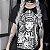 Camiseta Gótica Longline IN GOTH WE TRUST - Imagem 1