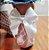 Meia Arrastão LAÇOS - Laço Pequeno e Grande - Imagem 2