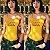 Blusa Cropped de Gola Olímpira & Body QUENTIN TARANTINO (Vendidos Separadamente) - Imagem 6