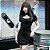 Vestido Gótico GLAMOUR BLACK - Imagem 3