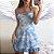 Vestido com Rendas BLUESKY - Imagem 1