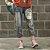 Calça Harém Jeans FUNK GRANNY - Imagem 4