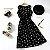 Vestido SPRINGDAY Luas & Cerejas - Duas Estampas - Imagem 2