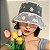 BUCKET HAT Transparente MARGARIDAS - Duas Cores - Imagem 1