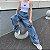 Calça Jeans Streetwear BUTTERFLY PRINT - Imagem 2