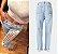 Calça Jeans Slim RIPPED FASHION - Três Cores - Imagem 5