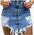 Minissaia Jeans RIPPED - Imagem 1