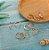 Conjunto de Anéis Dourados MYWAY - Imagem 2