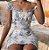 Vestido de Alça e Babado FLORIDO - Imagem 1