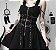 Vestido de Alça GÓTICO Riveted Strippes - Imagem 1