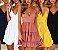 Vestido de Alcinha Babados Plissados BACKLACE - Várias Cores - Imagem 1