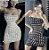 Vestido Tubinho de Alcinha BORBOLETA FLORESCENTE - Duas Cores - Imagem 1