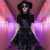 Vestido de Alça Gótico BLACK ROSES - Imagem 4