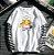 Camiseta Manga Longa Dupla DINOSSAURO & PIKACHU - Três Estampas - Imagem 2