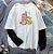 Camiseta Manga Longa Dupla GATINHOS E DRAGÕES - Duas Cores - Imagem 4