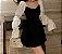 Vestido de Veludo MANGA BUFANTE - Imagem 4