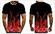 Camiseta EM CHAMAS - Três Cores - Imagem 3