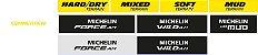 "Pneu Michelin 29"" X 2.35 Force AM Performace 4 X 60TPI TR Kevlar - Imagem 3"