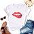 Tshirt Feminina Atacado LIPS JOUER - TUMBLR - Imagem 1