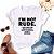 Tshirt Feminina Atacado I'M NOT RUDE  - TUMBLR - Imagem 1