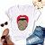Tshirt Feminina Atacado LIP ONÇA 2  - TUMBLR - Imagem 1