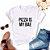 Tshirt Feminina Atacado PIZZA IS MY BAE  - TUMBLR - Imagem 1