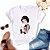 Tshirt Feminina Atacado BRANCA DE COKE  - TUMBLR - Imagem 1