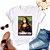 Tshirt Feminina Atacado MONA CORONA LISA  - TUMBLR - Imagem 1